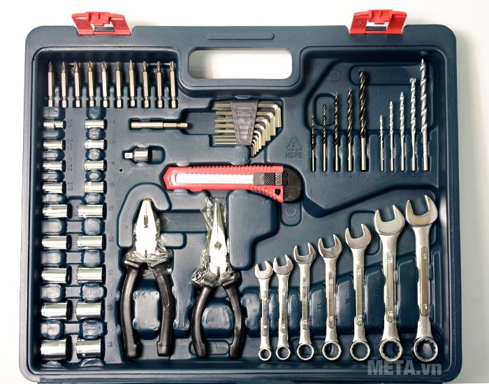 Dụng cụ nhiều kích cỡ đem lại nhiều sự lựa chọn cho bạn