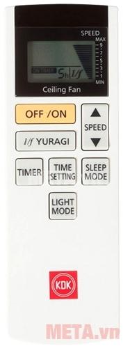 Thanh điều khiển từ xa có màn hình LCD
