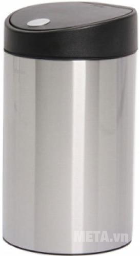 Thùng rác Inox nhấn tròn nhỏ Fitis RTS1-901 mở rộng giúp người dùng lấy rác ra vào dễ dàng
