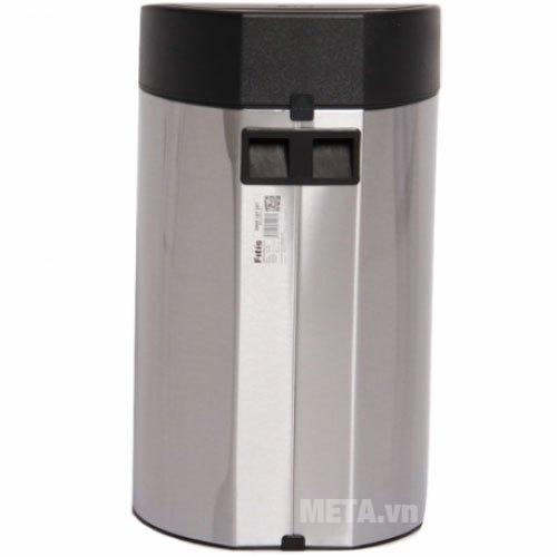 Thùng rác Inox nhấn tròn nhỏ Fitis RTS1-901 thiết kế đầy thẩm mỹ cho gian phòng gia đình