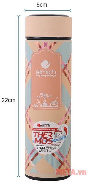 Kích thước của bình giữ nhiệt Elmich 2240738