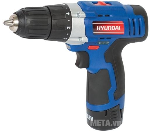 Máy bắt vít 10mm Hyundai HKP1010 sử dụng cho các vật liệu tường, gỗ, thép,...
