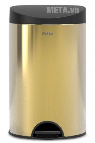 Thùng rác inox đạp tròn nhỏ Fitis RPS1-907 có chất liệu cao cấp
