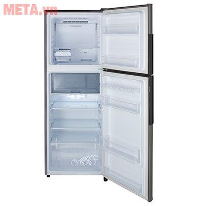 Tủ lạnh Sharp Inverter SJ-X316E-SL với thiết kế 2 cửa tiện lợi