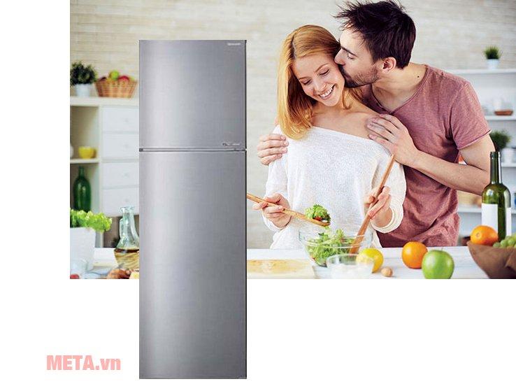 Tủ lạnh gia đình J-tech SJ-X281E-SL giúp bạn bảo quản thực phẩm tươi ngon hơn