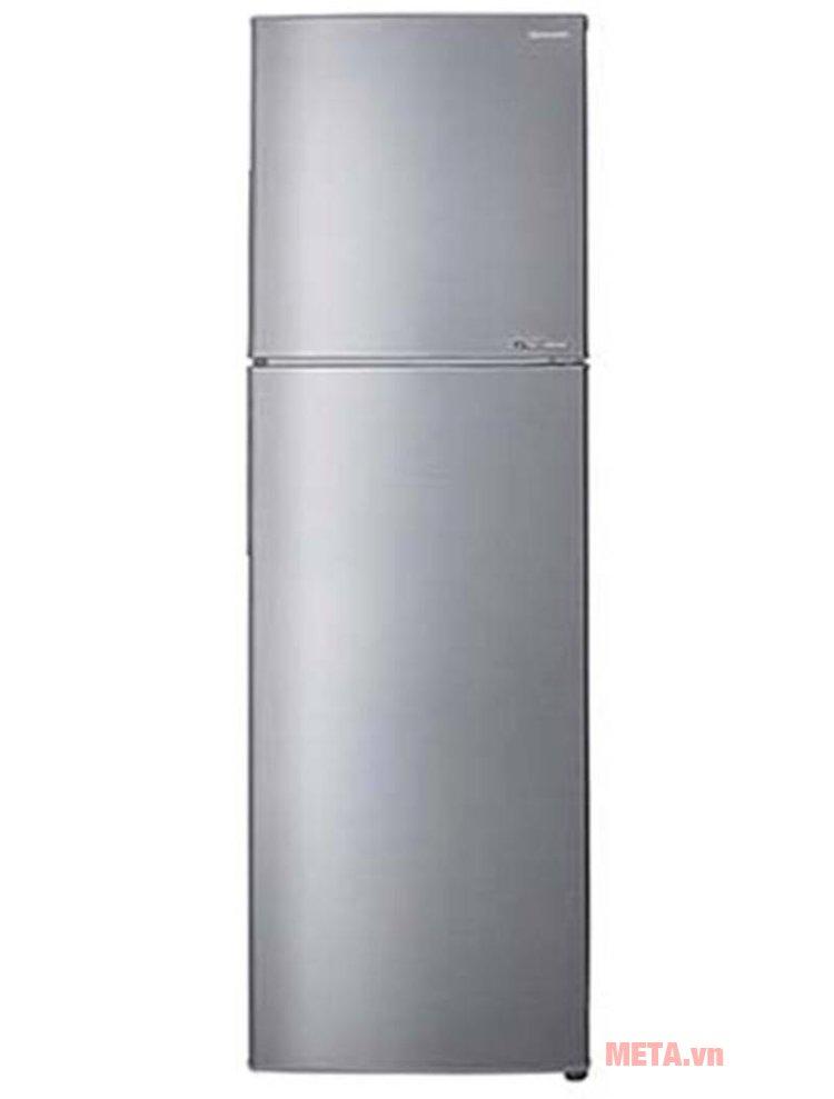 Tủ lạnh INVERTER SJ-X281E-SL có thiết kế thon gọn