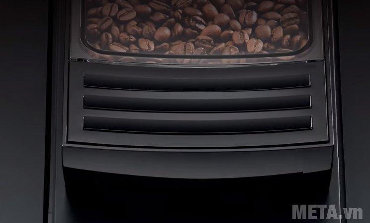 Máy pha cà phê tự động Jura Impressa WE8 có chức năng xay hạt cà phê