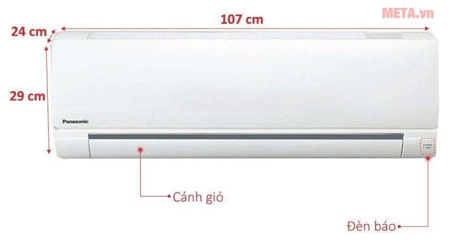 Cấu tạo điều hòa treo tường Panasonic CU/CS-N18TKH-8
