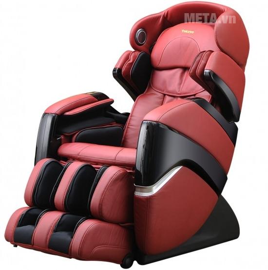 Ghế massage TC 711 tác động sâu toàn thân, xả stress cho cả gia đình sau chuỗi ngày làm việc mệt mỏi