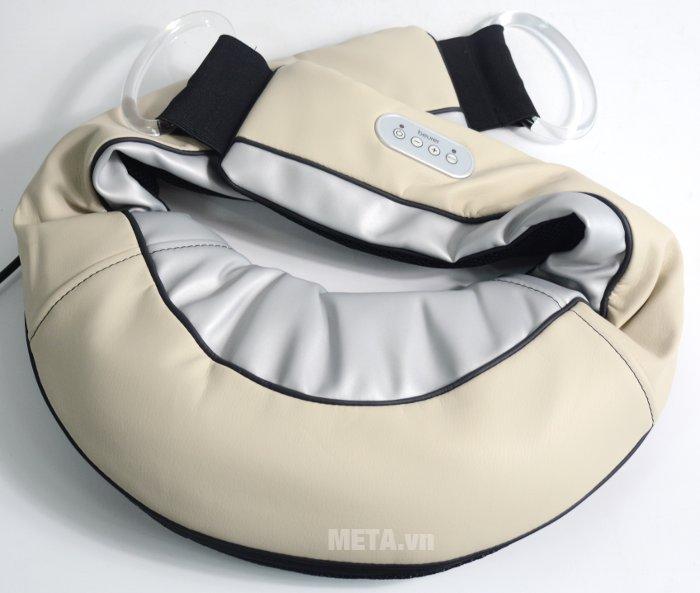 Đai massage trị đau vai, gáy, lưng Beurer MG150 được thiết kế như chiếc gối ôm quanh cổ