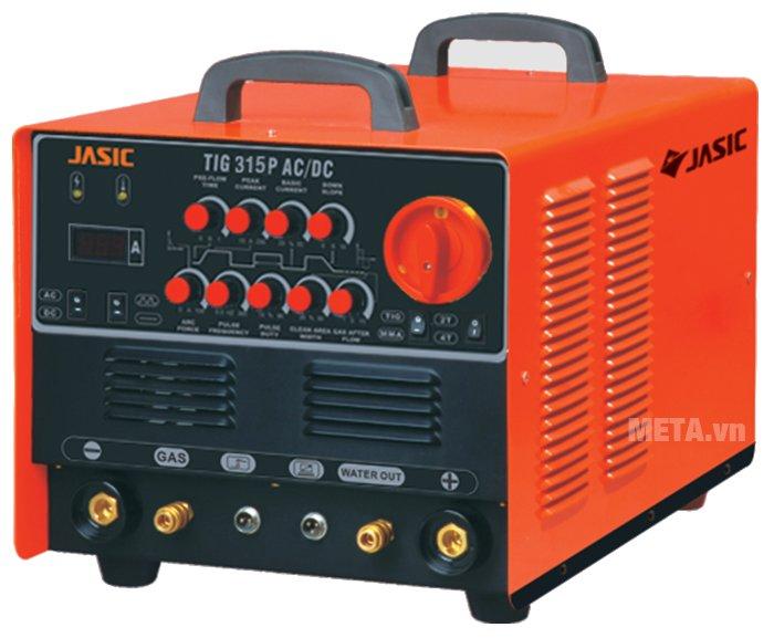 Máy hàn Jasic TIG 315P AC/DC (R63) độ dày hàn nhôm từ 0.5mm - 15mm