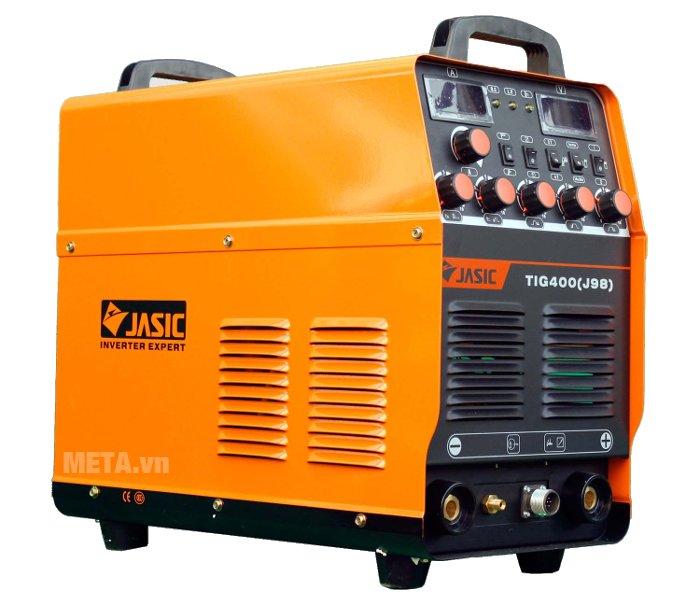 Máy hàn Jasic TIG 400 J98 có thể điều chỉnh cấp khí sau: 5/10/15/30 giây