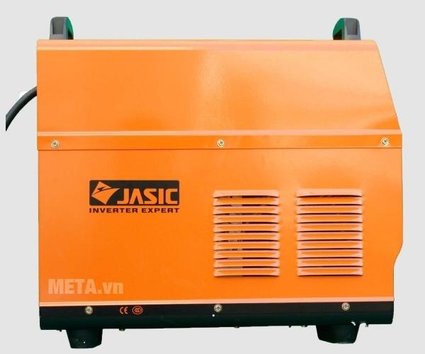 Máy hàn Jasic TIG 400 J98 có vỏ màu cam cách nhiệt, cách điện
