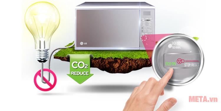 Chế độ Eco - on giúp tiết kiệm điện năng
