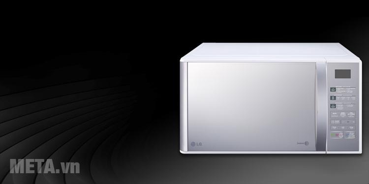 Lò vi sóng gia đình LG MH6842B/MH7043BAR có thiết kế sang trọng, hiện đại