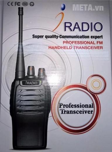 Máy bộ đàm Iradio IR-669 (FM) chuyên nghiệp
