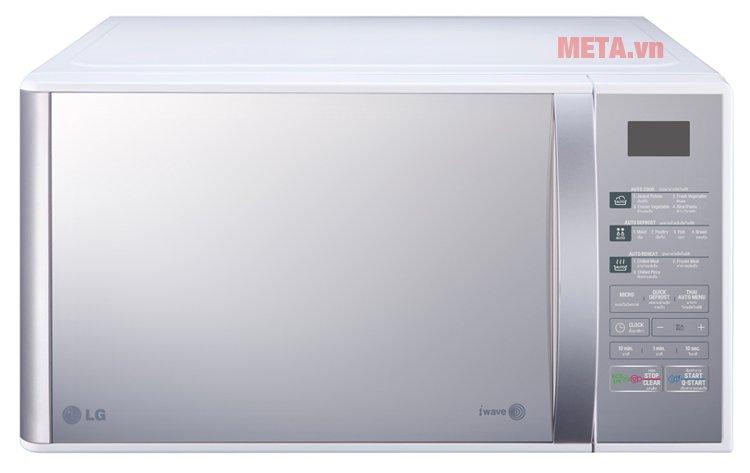 Lò vi sóng LG MH6342B/MH6343BAR có 10 chế độ nấu món Việt tự động