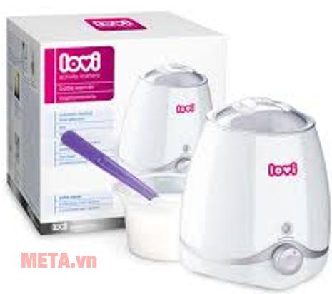 Máy hâm sữa lovi 12/202 có kèm theo chức năng máy tiệt trùng núm ti hoặc ti giả.