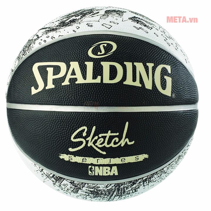 Bóng rổ Spalding Sketch Series Outdoor 83-534Z có độ nảy tốt