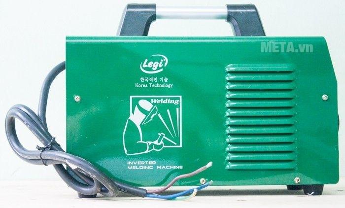 Máy hàn điện tử Legi LG-25 có trọng lượng chỉ 6.2kg