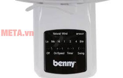 Quạt treo tường Benny BFW44T có thể điều khiển từ xa đến 7m