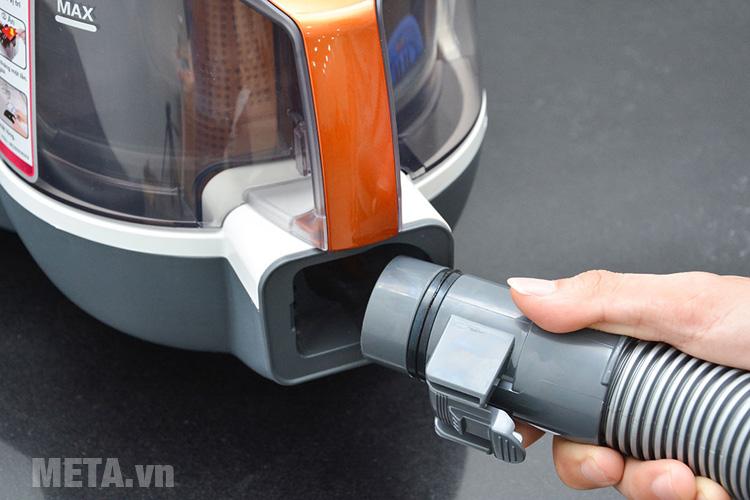 Ống hút bụi có thể dễ dàng tháo lắp