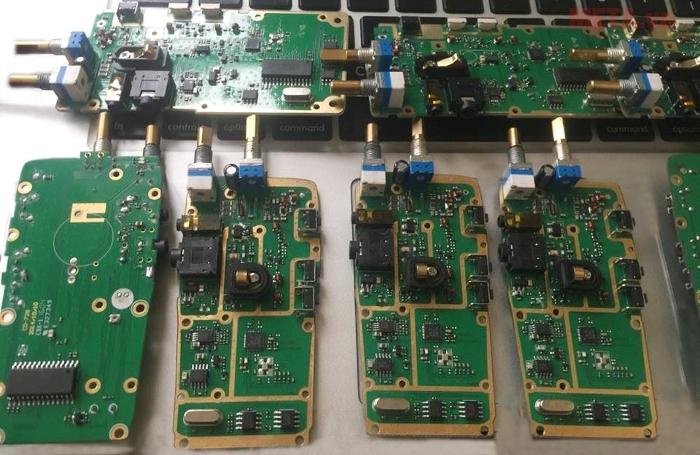 Vi mạch chi tiết của máy bộ đàm GP-368 Plus