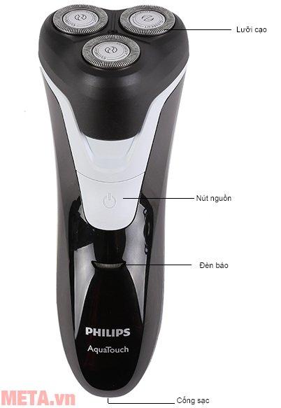 Cấu tạo của máy cạo râu Philips AT610