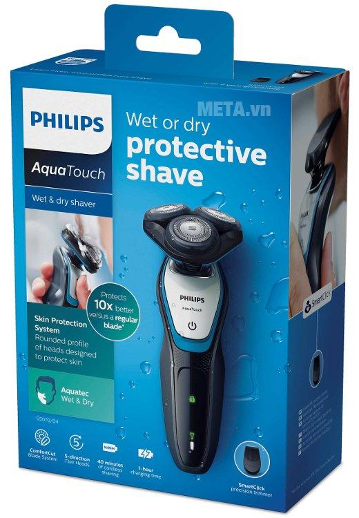 Máy cạo râu Philips S5070 có hộp đựng sang trọng