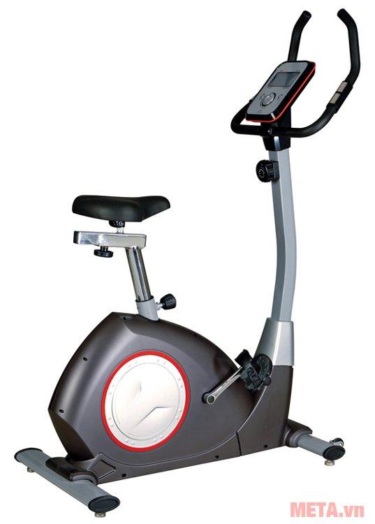 Xe đạp cố định từ Genus-101 có chức năng đo nhịp tim