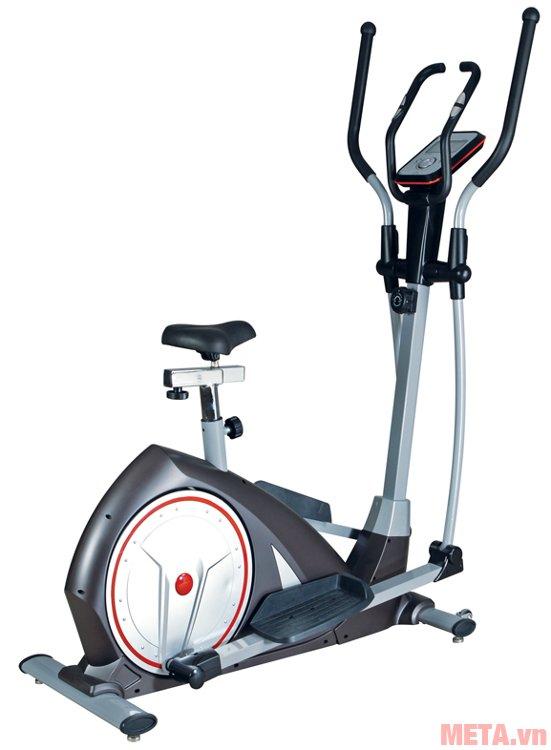 Xe đạp leo núi có yên Genus-101A có đồng hồ, có đo nhịp tim