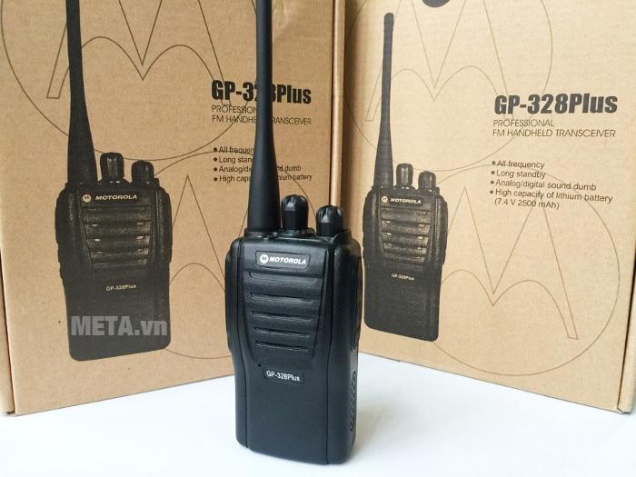 Bộ đàm Motorola GP 328 Plus ứng dụng công nghệ chống nhiễu hiệu quả