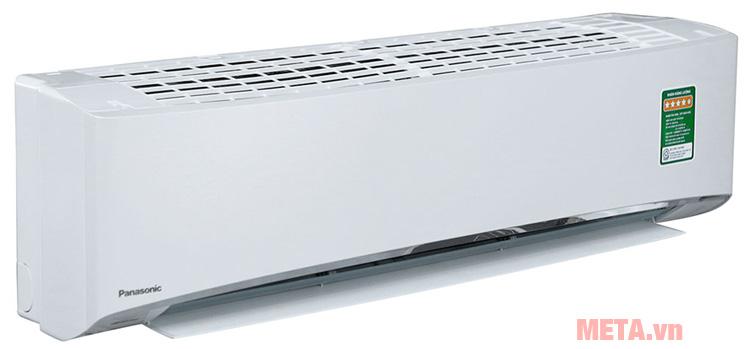 Điều hòa treo tường 9000BTU CU/CS-U9TKH-8 có thiết kế màu trắng