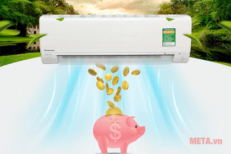 Điều hòa gia dụng LG 9000BTU CU/CS-U9TKH-8  với công nghệ Incerter giúp tiết kiệm điện năng và chi phí