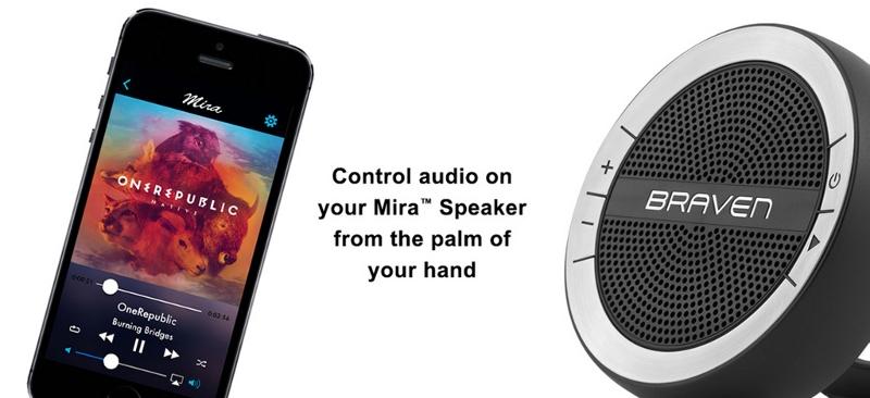 Download App dành riêng cho loa Mira của Braven Mira™ App để trải nhiệm thêm nhiều tiện ích