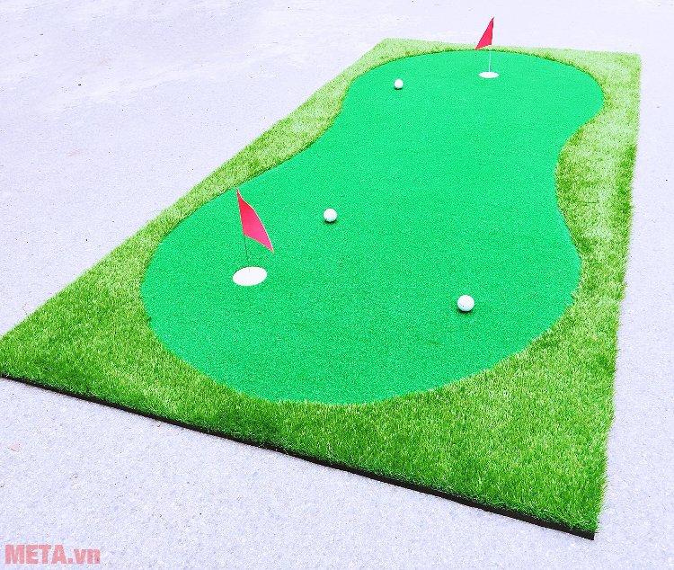 Thảm tập Putter A20 TL006 dùng tập gạt bóng golf tại nhà, văn phòng...