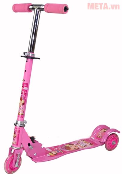 Màu hồng công chúa cho các bé gái