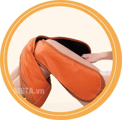 Đai massage vai và cổ I-Soothing SM-JS300 với thao tác cuốn chân