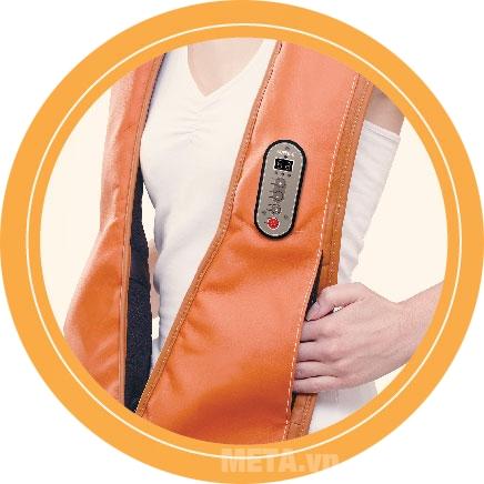 Đai massage vai và cổ I-Soothing SM-JS300 tác động sâu vào mọi điểm trên cơ thể