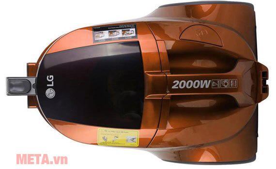 Máy hút bụi gia đình LG VC4220NHTO/VC4220NHTPO có màu cam nổi bật