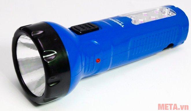 Đèn pin sạc điện Tiross TS-1128 màu xanh
