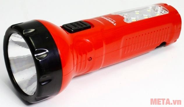 Đèn pin sạc điện Tiross TS-1128 màu đỏ