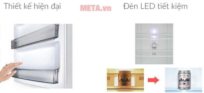 Tủ lạnh Panasonic inverter 234 lít NR-BL267VSV1 giúp gia đình bạn tiết kiệm tối đa điện năng