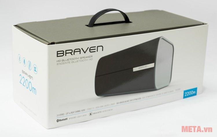 Loa Braven 2200m thiết kế hộp đựng sang trọng