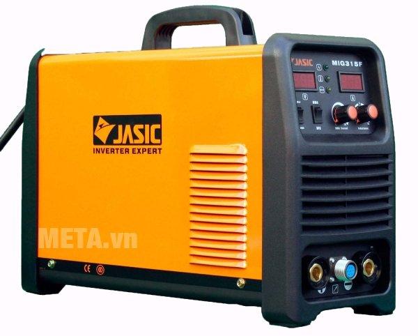 Máy hàn bán tự động Jasic MIG-315F nhỏ gọn, có tay cầm dễ di chuyển