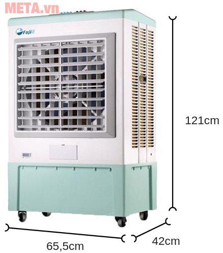 Máy làm mát Air Cooler FujiE AC-50 có độ ồn thấp dưới 60dB