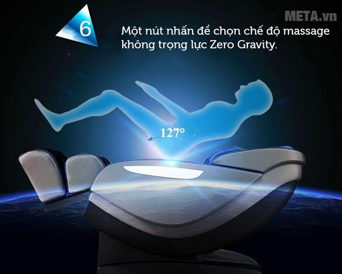 Trải nghiệm cảm giác không trọng lực với chế độ Zero Gravity