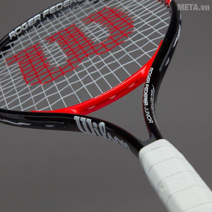 Vợt tennis trẻ em Wilson Roger Federer 25 WRT200800 có mật độ căng cước dày