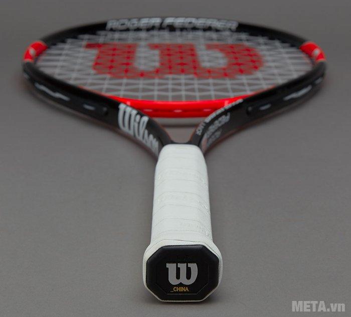 Vợt tennis trẻ em Wilson Roger Federer 25 WRT200800 có tay cầm nhỏ gọn