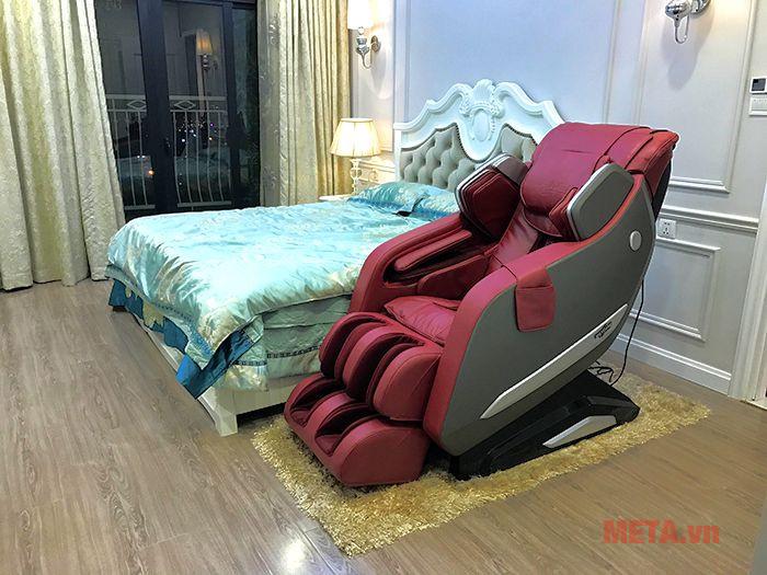 Ghế massage max669 nổi bật tại phòng ngủ
